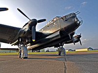Lancaster bomber PA474, City of Lincoln.